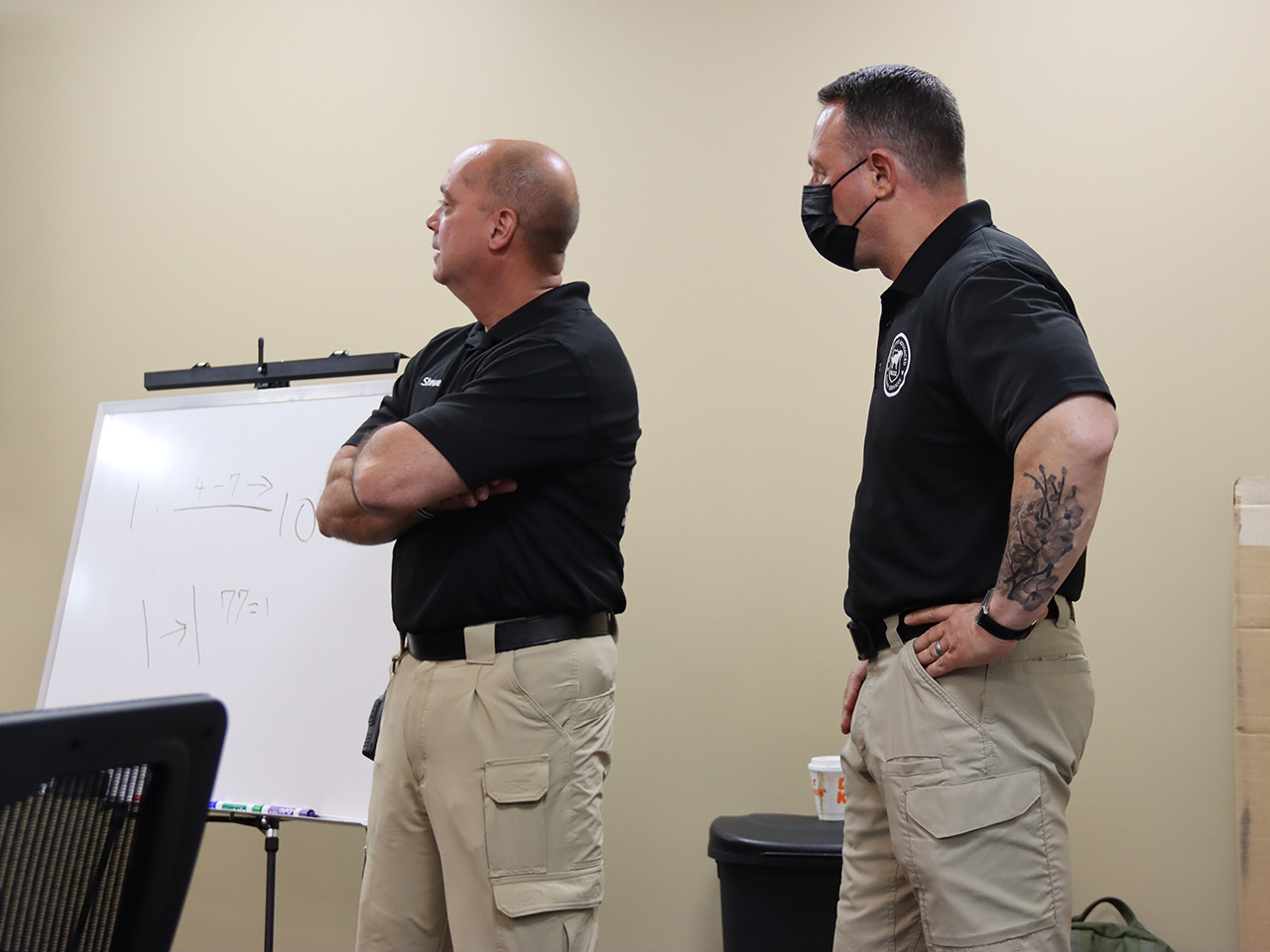PASS active shooting training at PDC
