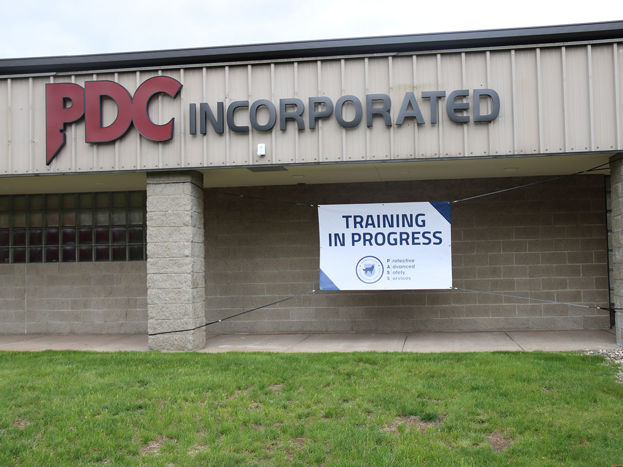 PDC Inc active shooter training banner