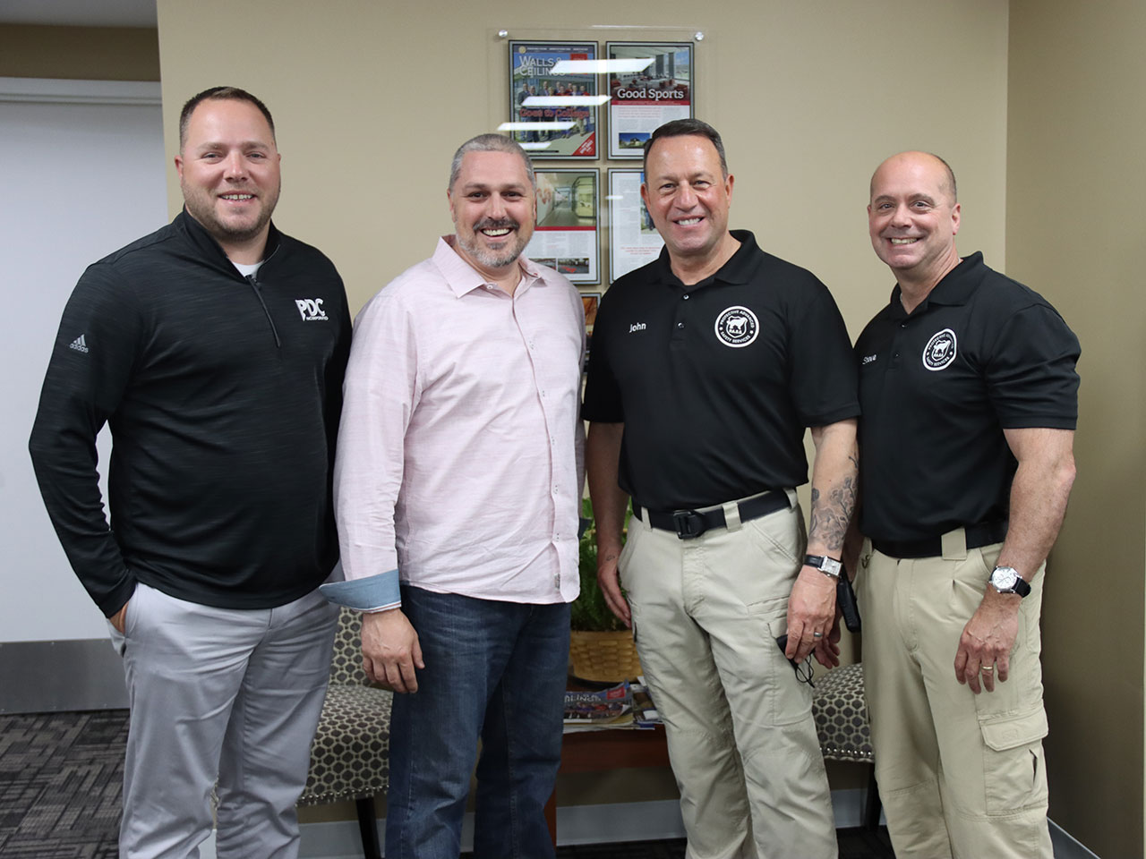 team copletes active shooter training