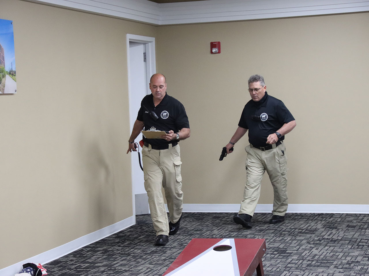 PASS active shooter training in progress