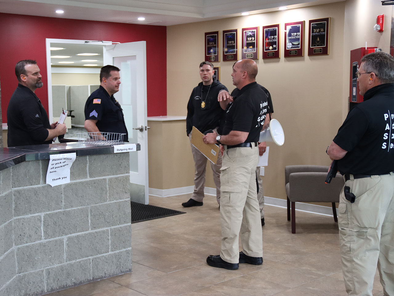 front desk active shooter training PDC Inc