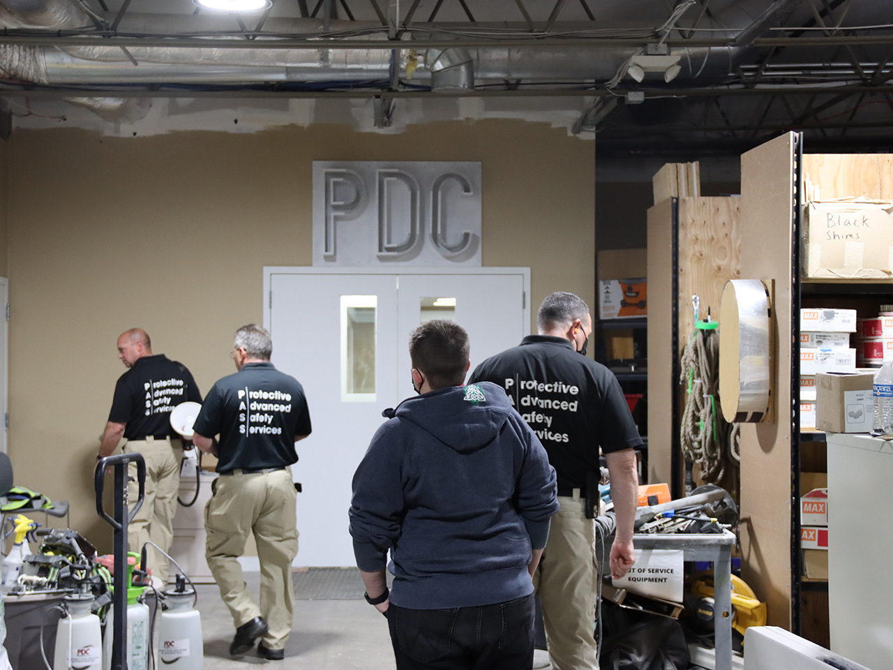 in building active shooter training