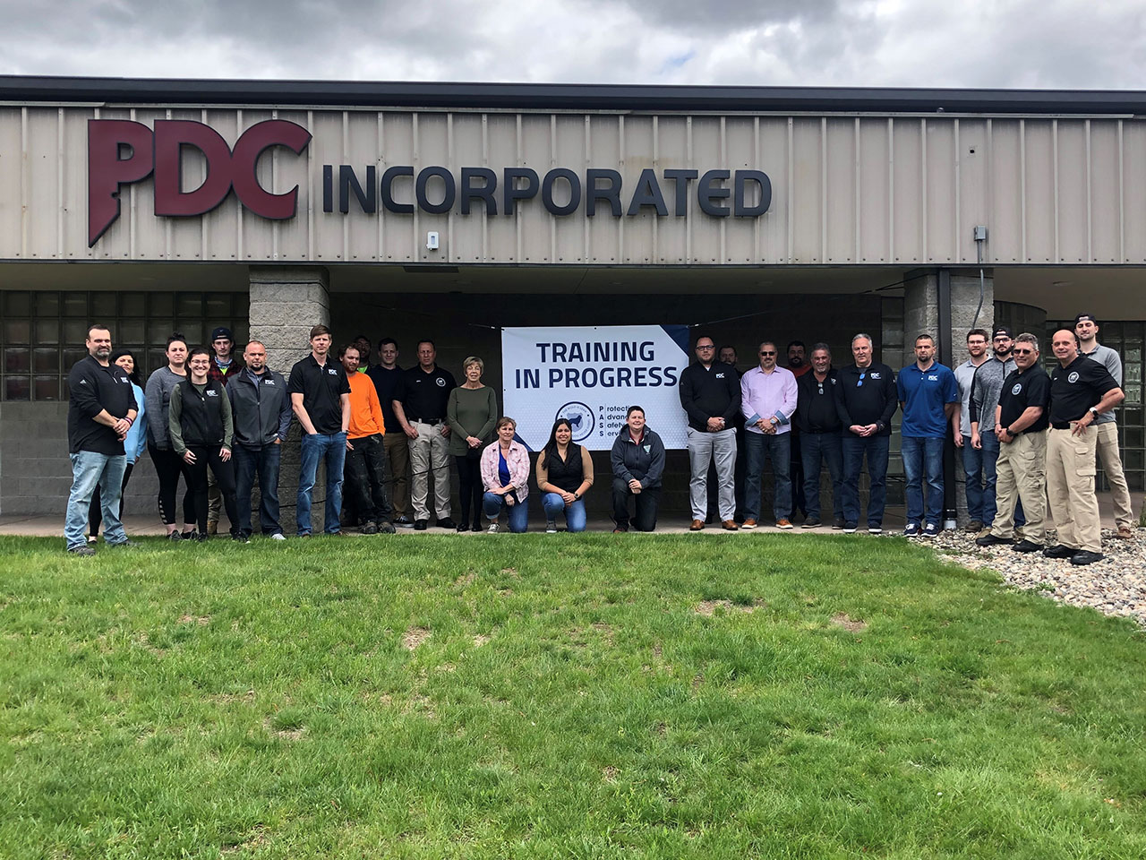 PDC Inc in Springfield team completed active shooter training