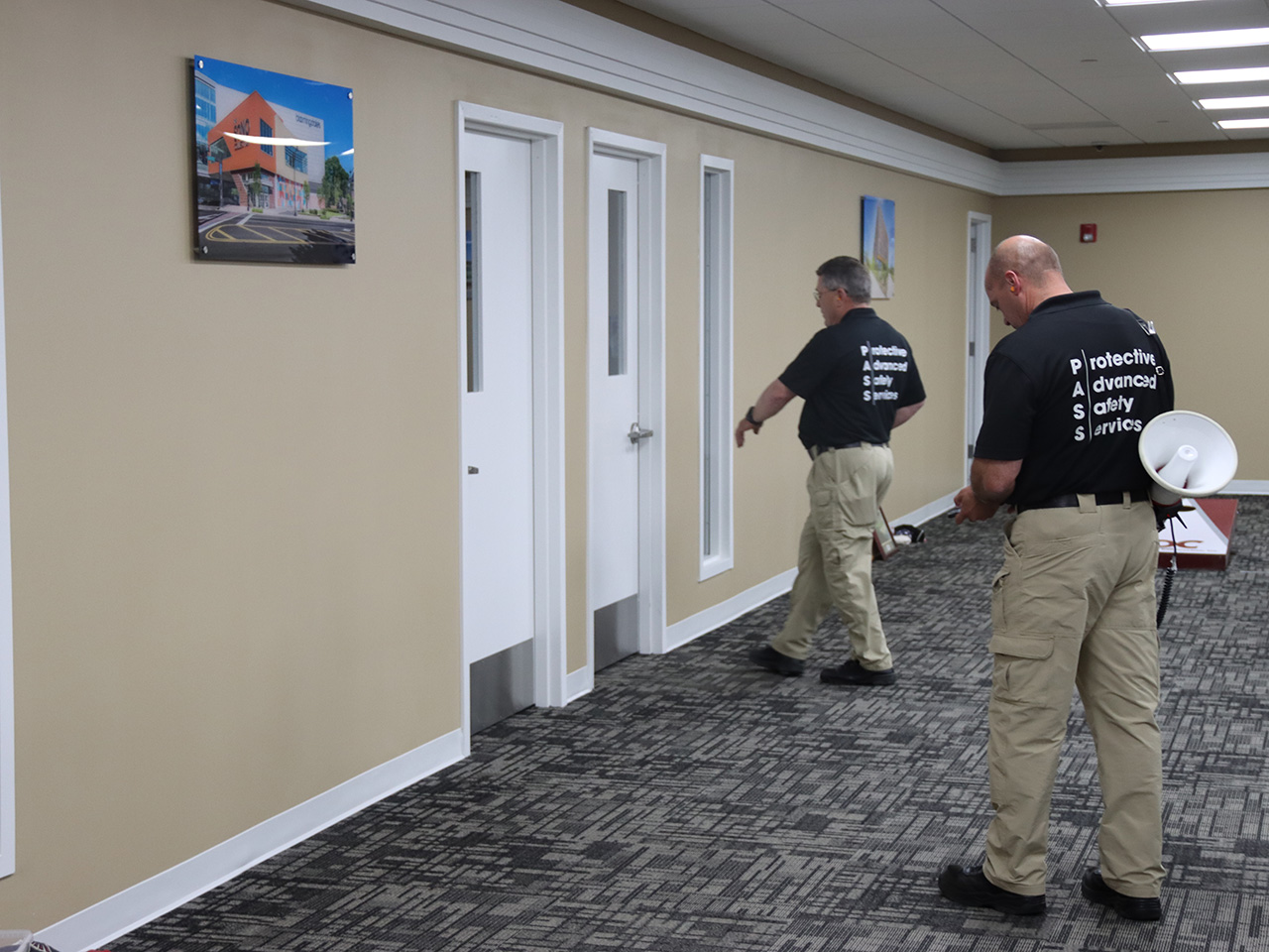 active shooter training, shooter tests doors